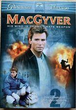 MacGyver: The Complete Second Season [6 Discs] Dvd Region 1