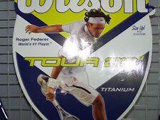 """Wilson Titanium Tennis Racquet 23"""" Tour Roger Federer 3 5/8 Ast4(R) Wrt2911U Nwt"""
