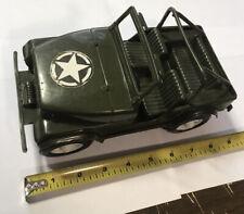 Vintage Gay Toys Inc. Army Jeep Plastic Toy Item 650
