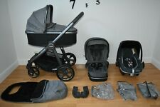 Travel System 3in1 Oyster 3 in City Grey  inc Footmuff