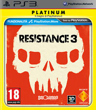 Resistance 3 Platinum  - PS3 ITA - NUOVO SIGILLATO  [PS30997]