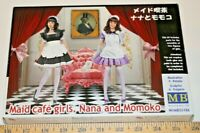 "Master Box ""Maid Cafe Girls-Nana Momoko"" 1/35 Ukrainian Model Kit ships from USA"