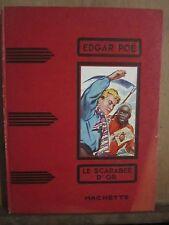 Edgar Poë: Le Scarabée D'Or/ Hachette, 1937