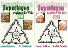 SUPERLOGEN REGIEREN DIE WELT - Teile 1-8 - Johannes Rothkranz - 8 x HEFT