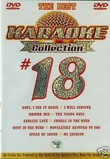 Karaoke Collection #18 The Best DVD NEW & Original Packaging D69