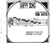"NIPS Happy Song 7"" w/PS RE PUNK POWERPOP Pogues"