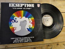 EKSEPTION CLASSIC IN POP LP 33T VINYLE EX COVER VG ORIGINAL 1969
