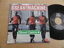 """DISQUE 45T DE BREAK MACHINE  """" STREET DANCE """""""