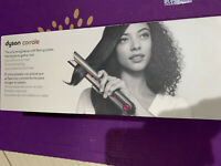 ✳️NEW! ✳️ Dyson Corrale Hair Straightener Flat Iron Black Nickel Fuchsia