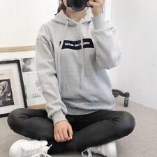 Mujer CASUAL capucha Sudaderas Informal De Holgado Suéter Pullover Jersey