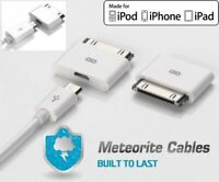 2X Micro USB Female to 30pin Male Charger Adapter For iPad/iPod/iPhone 4 S