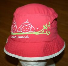 Outdoor Research Pink UPF 30 Youth Kids Medium Bucket Hat 4-6Y Bird Embroidered