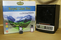 ✅2021 ROYAL LINE PRO BLACK FRESH AIR PURIFIER wDouble Anti Virus UV + Lavender