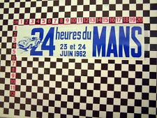 1962 Le Mans Sticker - Jaguar XK120 XK140 XK150 Aston Martin DB3 Porsche 356