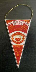 Alter Wimpel Manchester United - European Cup Winners 1968