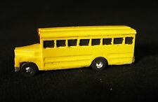 Short School Bus - Z-5101 - Easy to build Z Scale kit by Randy Brown