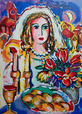 "ZAMY STEYNOVITZ - ""Bride On Her Wedding Night"" - Serigraph - Artist's Proof 8/65"