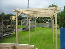 2.4m x 4.8m Pergola Timber Kit patio vine frame shade