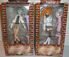 NEON GENESIS EVANGELION UFO SEGA PRIZE 2 WINTER figures SET GAINAX EVA Japan Dx