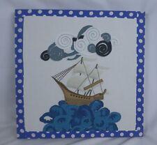 The Company Store Fabric Sailboat Wall Art 74124 1000Hdkcz