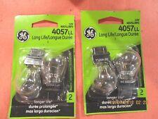 4057LL---GE--LOT  OF --4---Longlife  Tail Light Bulb (OE) 4057LL/BP2