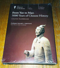 NEW Teaching Company FROM YAO TO MAO 5000 Years of Chinese History 6 Discs DVDs