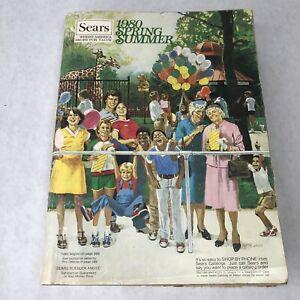 Sears Catalog - Summer/Spring 1980 Vintage