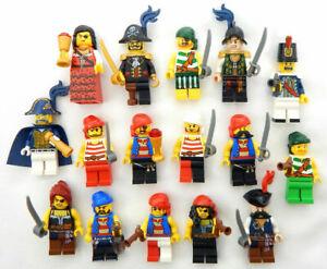 NEW LEGO 7 RANDOM PIRATE MINIFIG LOT minifigure figure armada