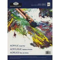"""ROYAL & LANGNICKEL ESSENTIAL Acrylic Artist Pads 22 SHEETS 9""""x12"""""""