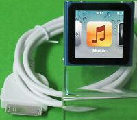*TOP* Apple iPod nano MP3-Player 8 GB (6. Generation, Multi-touch) BLAU  A1366