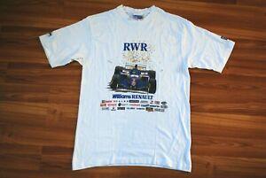 1996 ROTHMANS WILLIAMS RENAULT WORLD CHAMPIONS T-SHIRT VINTAGE FORMULA 1 RARE