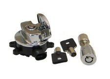 Ignition Key Switch Chrome For Harley-Davidson