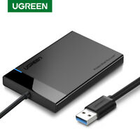 Ugreen USB 3.0 to SATA External Hard Drive Enclosure Case with Cable for 2.5 HDD