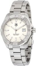 WAY1111.BA0928 Tag Heuer Aquaracer Mens Watch Quartz Silver Dial Stainless Steel