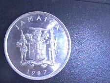 JAMAICA 1987 25 CENTS