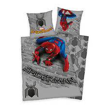 d0f0917967 Renforce Kinder Bettwäsche Bettgarnitur 135x200 cm Spiderman Homecoming