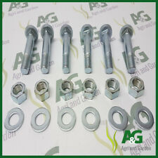 Rear Wheel Rim Bolt Set suits MF ,case,Ford,David Brown.Square Type x 6