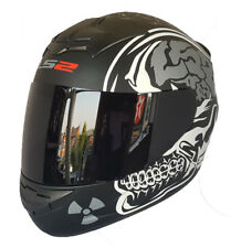 Casco Integrale Moto Ls2 Ff352 Rookie Brillant Matt M