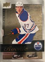 2015-16 Connor Mcdavid Upper Deck Fusion Rookie Achievements Gold #R1 Oilers
