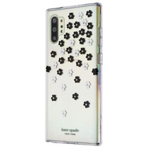Kate Spade Hard Case for Galaxy Note10+ & Note10+ (5G) - Clear/Scattered Flowers