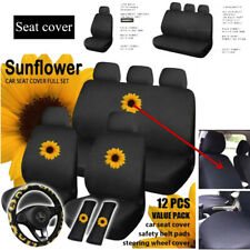 Universal Auto Car Truck Seat Cover Set Cotton Cushion Protector Breathable Part