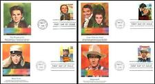Hollywood Classic Films 2445 - 2448 Set of 4 Fleetwood Full color Wizard of Oz