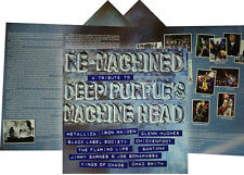 Deep Purple tribute: Re-Machined / gatefold with insert / Eagle EAGLP494 SEALED