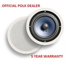 Pair Of Polk Audio RC60i In Ceiling 100W Speakers 5 Year Warranty Next Day P&P
