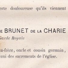 Henry Hippolyte Brunet De La Charie La Fontaine 1874