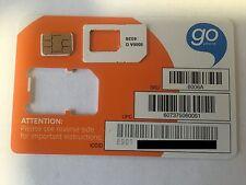 AT&T NANO CUT SIM CARD 3G/4G LTE GO PHONE READY TO ACTIVATE AT&T Prepaid