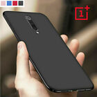 For OnePlus 8 7 Pro 6T 6 5T 3T Shockproof Ultra Thin Matte Hard Phone Case Cover