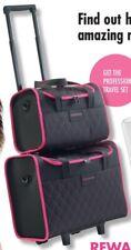 Nutrimetics Vanity Case Skincare Makeup Carry Bag Pink & Black Travel Set Luggag