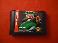 Teenage Mutant Ninja Turtles Tournament Fighters Sega Genesis 1993 game WORKS B1