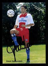 Hasan Salihamidzic Autogrammkarte Hamburger SV 1997-98 Original Signier+A 105509
